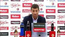 Rueda de prensa de Javi Gracia tras el Sporting de Gijón (1-0) Málaga CF