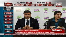 Figen Yüksekdağ & Selahattin Demirtaş Basın Toplantısı - 1 Kasım 2015