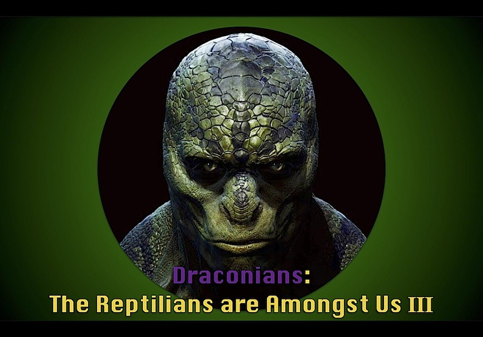 COG - Draconians: The Reptilians are Amongst Us -3 (Satanism, Gematria, &  Evidence)