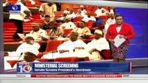 News@10: Senate Screens 10 Ministerial Nominees, Clears All 13/10/15 Pt 1