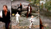 Neil Patrick Harris' Family Recreates 'Star Wars' Characters For Halloween