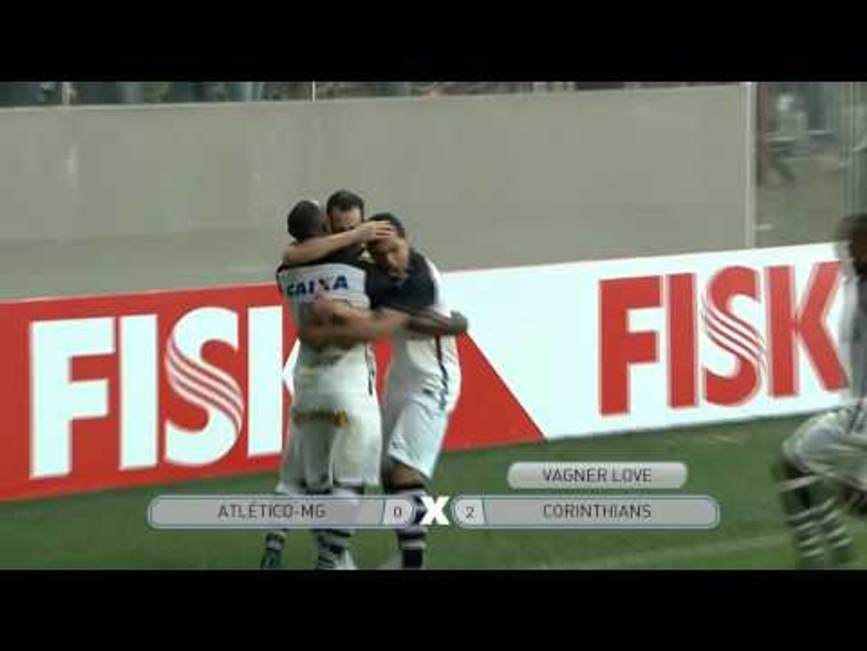 Gols - Brasileirão: Atlético-MG 0 x 3 Corinthians