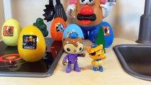 Fireman Sam Octonauts Toy story CBeebies UK toys Mr potato French toys surprise