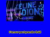 Céline Dion L'amour peut prendre froid (Avec voix masculine)