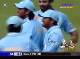 AB de Villiers cheating, Aleem Dar must be blind India v South Africa 3rd ODI at Belfast 2007