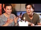 Aamir Khan Wishes Shahrukh Khan LOVE & JOY On His 50th Birthday