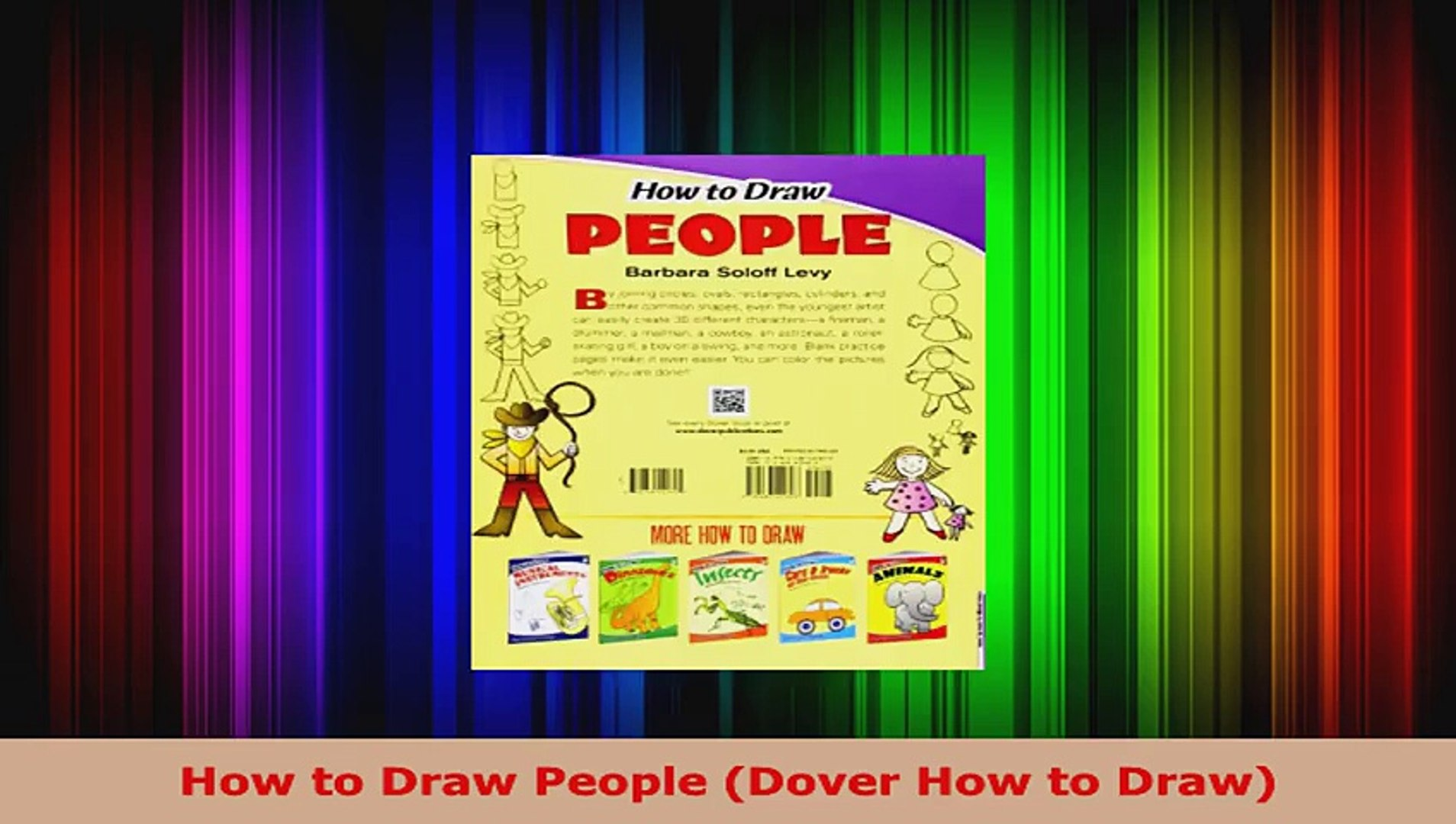 How to Draw People Dover How to Draw
