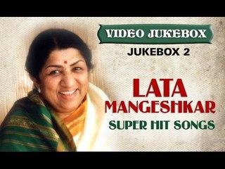 Lata Mangeshkar Super hit Songs - Jukebox 2 - Old Hindi Melodies
