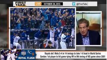 ESPN First Take - Stephen A. Smith on Royals Defeat Mets in World Series