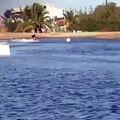 Justin Bieber Wakeboarding in Panama 25 January, 2014