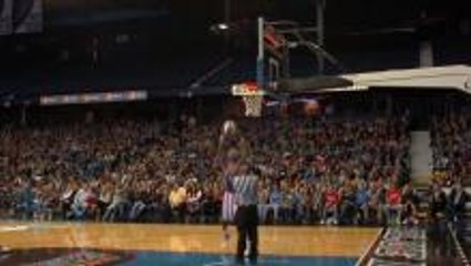 Moose's Buzzer Beater Dunk Over the Ref