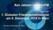 Ken Jebsen von KenFM auf der 1. Globalen Friedensmahnwache in Wien