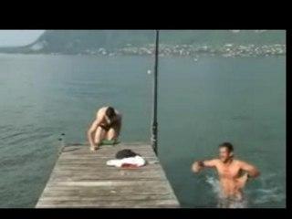 Défis Baignade lac annecy