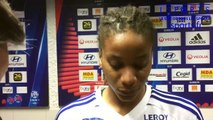 Réaction fin de match OL - Juvisy : Elodie Thomis