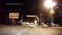 Russian road rage incident takes a turn for the bizarre when Spongebob Squarepants gets involved
