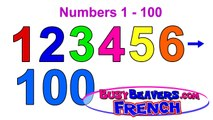 Numbers Counting 1-100 (French Lesson 03) CLIP - Kids Learn to Count in French, Easy Fran�
