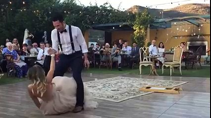 Bride Levitates Husband at Wedding!