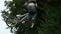 Bicycle Front Flip Epic Fail Video Laugh your heart
