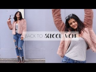 LOOKBOOK BACK TO SCHOOL l WORK collab youtubeuses ♥