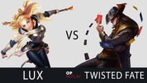 Lux vs Twisted Fate - SKT T1 Faker EUW LOL Challenger