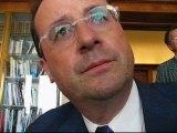 Brest : François Hollande et les riches