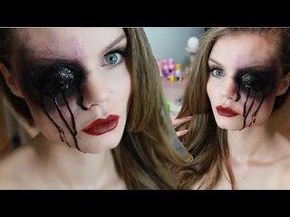 Oeil Crevé - Burst Eye Halloween Make up Tutorial ♥