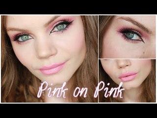 Pink on Pink - Tutorial Make up ♥