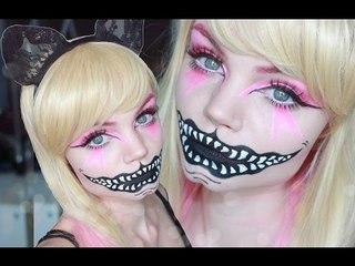 Cheshire cat - Alice in Wonderland - Makeup Tutorial ♥