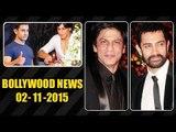 Salman & Aamir Wishes Shahrukh Khan On His 50th Birthday | 2nd Nov 2015