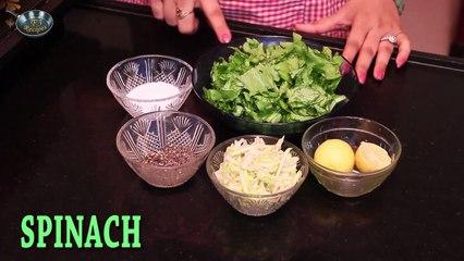 How to make PALAK SOUP II II By Chef Ms Jyotshna Singh