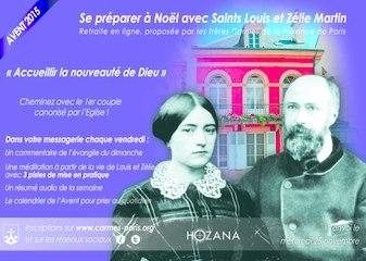 Avent 2015 : Retraite en ligne avec saints Louis et Zélie Martin