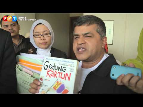 Partial victory for cartoonist Zunar