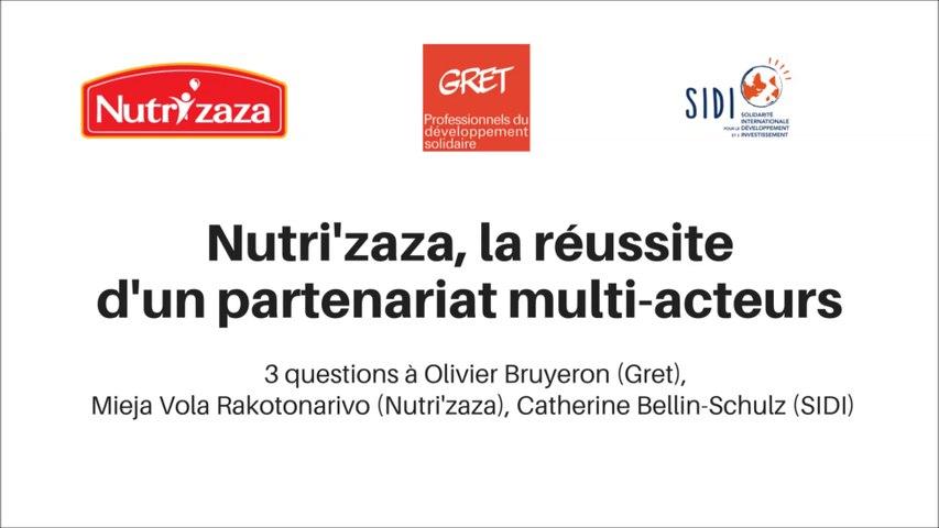 Nutri'zaza, la réussite d'un partenariat multi-acteurs