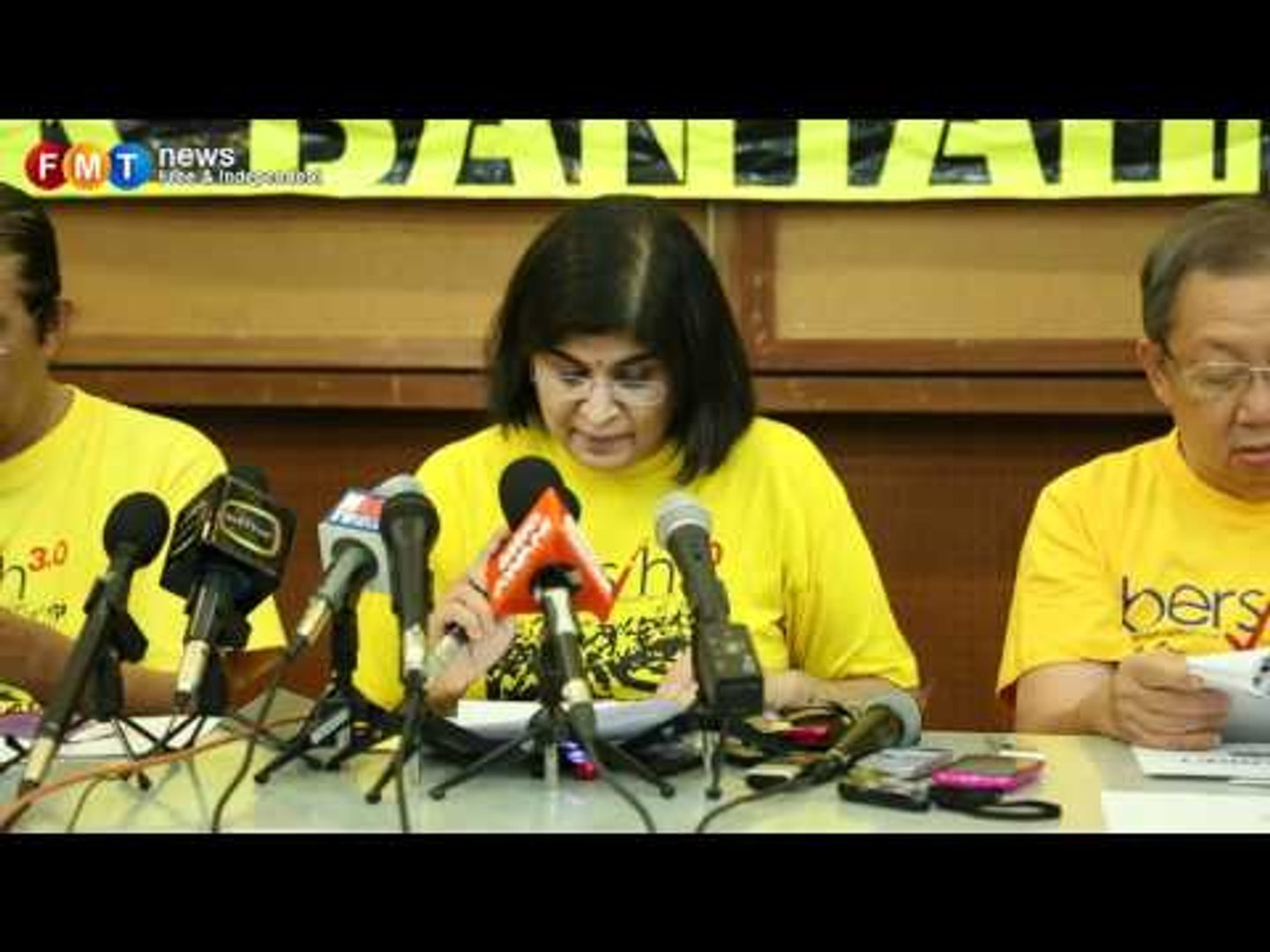 Court order and barriers won't stop Bersih