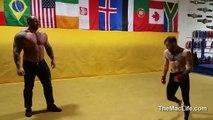 La montagne de Game of Thrones contre un champion de l'UFC