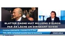 Sepp Blatter gagne huit millions d'euros par an, lâche un dirigeant suisse