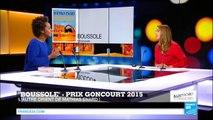 "Mathias Enard, Prix Goncourt 2015 pour ""Boussole"""