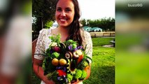 Veggie bridal bouquets and other wedding flower alternatives