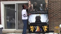 Game of Thrones Season 5: Tyrion Lannister Cutout - Winter is Coming!