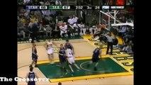 Ray Allen Full Career-High Highlights vs Jazz - 54 Pts (2007.1.12) INSANE Shooting