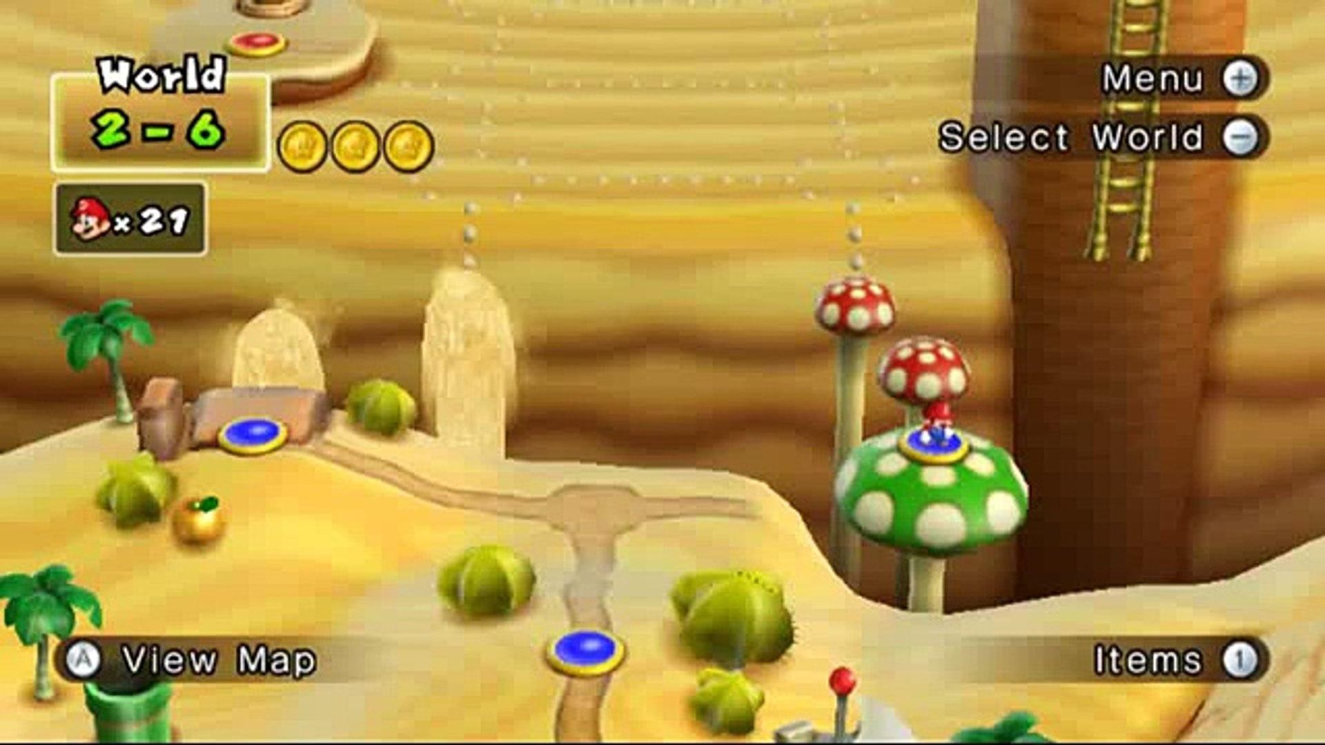 New Super Mario Bros Wii Hellboy Edition 2 6 Secret Exit Video