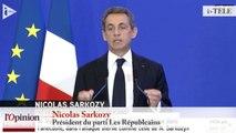 TextO' : Nicolas Sarkozy : « L'autorité de l'État est bafouée jour après jour »