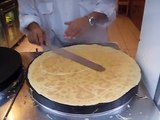 Crepes, How's make Crepes in Paris - easy recipes