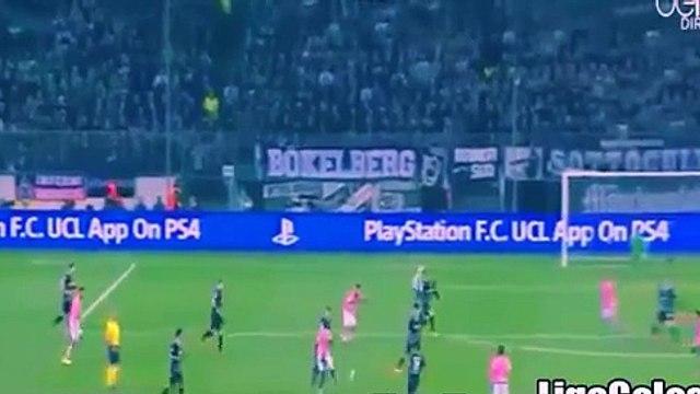 Mönchengladbach vs Juventus 1-1 (Champions League 2015) Stephan Lichtsteiner Go