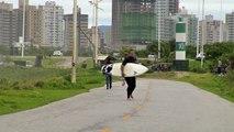 Transat Jacques Vabre 2015 - Surf in Itajai