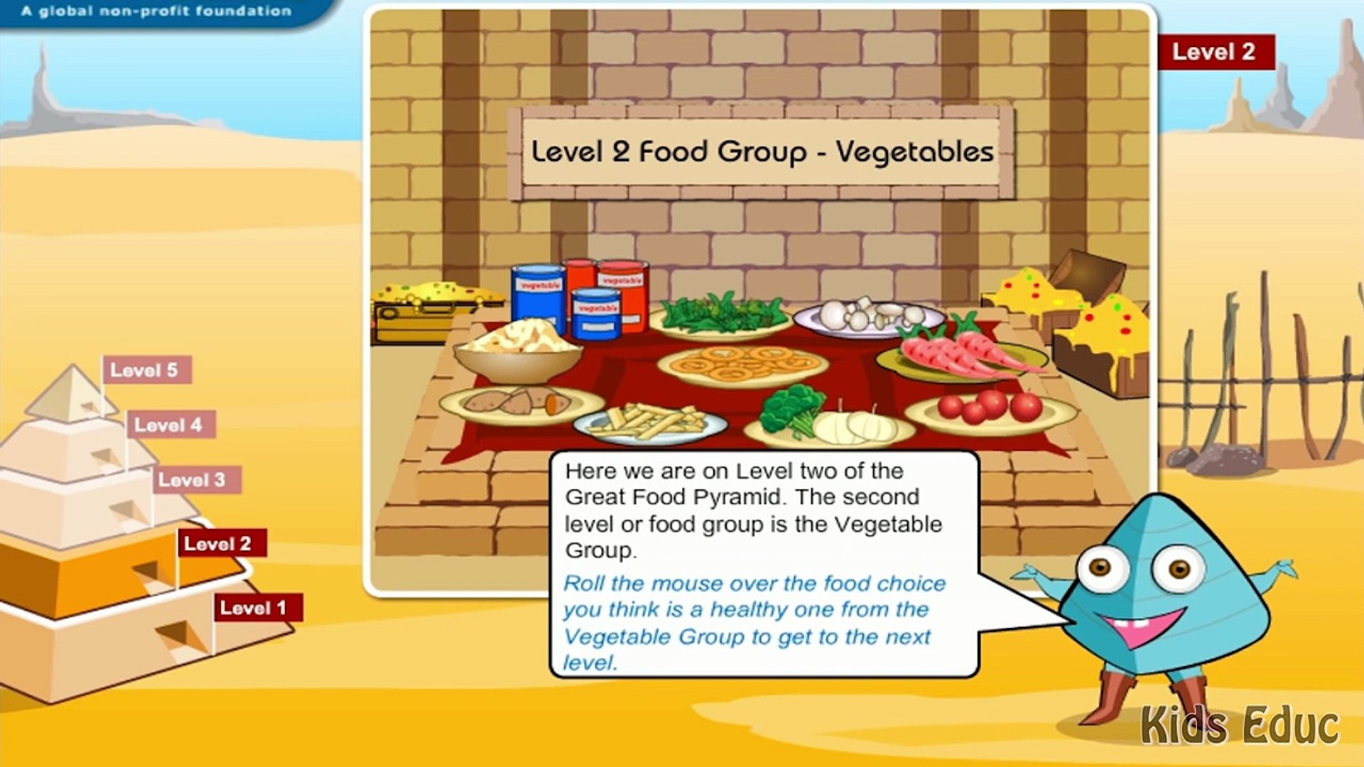 Food Pyramid The 5 Different Food Groups Learn The Healthy Unhealthy Foods Video For Dailymotion Video