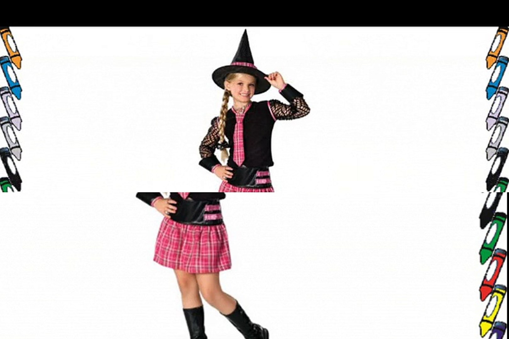 Halloween Kost?m Hexe Hexenkost?m USA-Style Gr. M