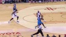D.J. Augustin Gets Away With the Worst Non-Travel Call You'll Ever See
