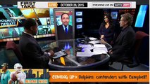 ESPN First Take - How Should the Cowboys Deal with Greg Hardy ?