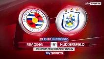 Reading vs. Huddersfield Town  2 - 2  Highlights (Championship - 4 November 2015)
